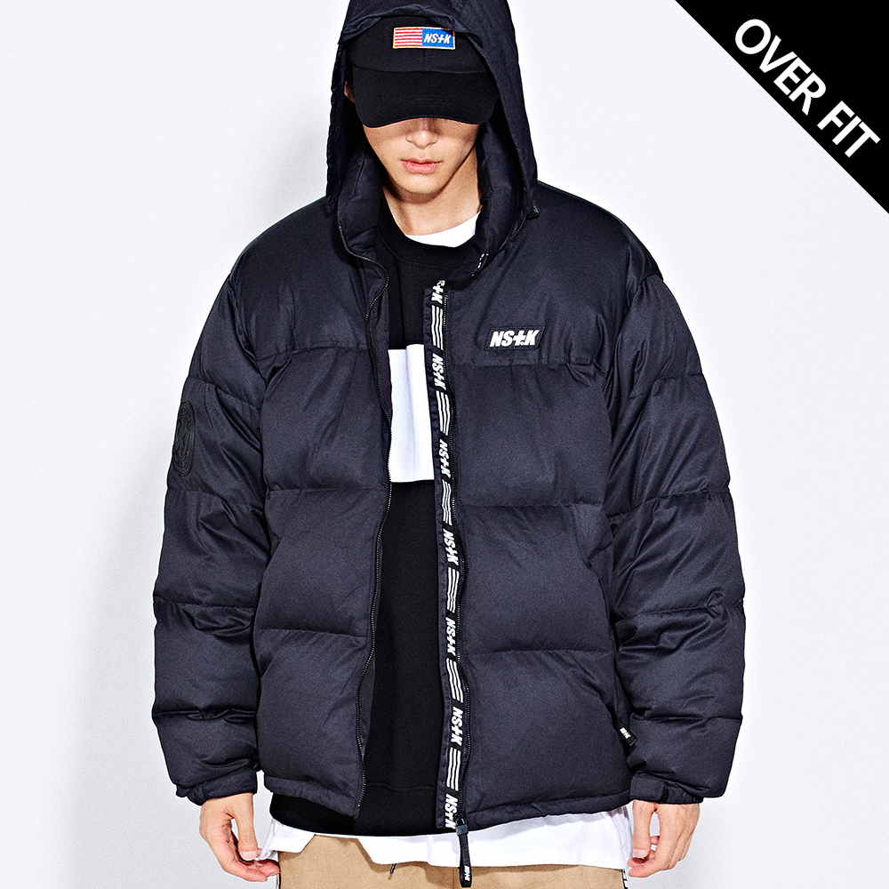 [NSTK] LIKE FURY PADDING JACKET (BLK) - BLACK